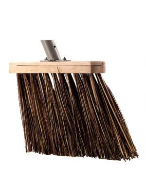 Bedrijfsbezem - Talen Tools - 8712448281508 - Bedrijfsbezem bruin 31cm