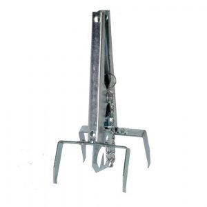 Mollenklem - Talen Tools - 8712448281508 - Mollenklem met plaat verzinkt