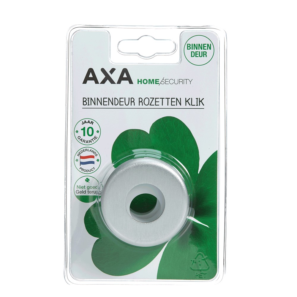 Deurbeslag Buitendeur Axa.Axa Curve Klik Binnendeurrozetten 8713249233505 8713249090146