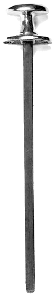 Beltrekker - SCHMITZ - 8715629000004 - Beltrekker 250 mm zwart gelakt