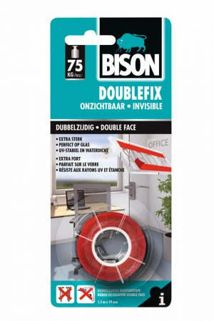 Dubbelzijdig tape - Bison - 8710439990019 -