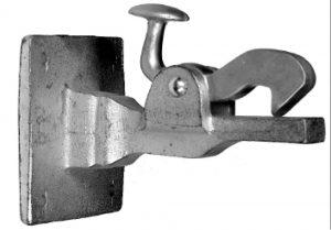Deurvastzetter - SCHMITZ - 8715629000004 - Deurvastzetter wandmontage