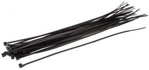 Kabelbinders - Talen Tools - 8712448281508 - Kabelbinders nylon 20cm 25 stuks