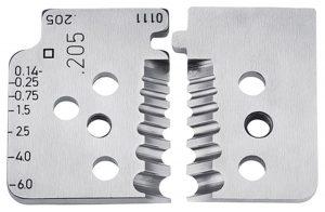 1 set reservemessen voor 12 12 06 - KNIPEX-Werk - 4003773000006 -