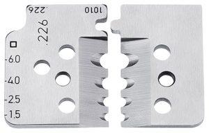 1 set reservemessen voor 12 12 11 - KNIPEX-Werk - 4003773000006 -