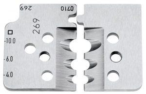1 set reservemessen voor 12 12 12 - KNIPEX-Werk - 4003773000006 -