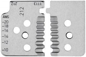 1 set reservemessen voor 12 12 13 met precisie geslepen messen - KNIPEX-Werk - 4003773000006 -