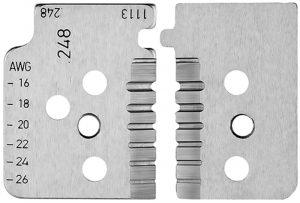 1 set reservemessen voor 12 12 14 met precisie geslepen messen - KNIPEX-Werk - 4003773000006 -