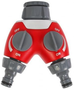 2-weg waterverdeler - Talen Tools - 8712448281508 - 2-weg waterverdeler