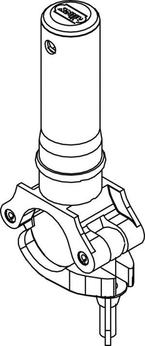 Rolsteiger adapter RS TOWER 52-RS TOWER 51 - Altrex - 8711563807105 - Adapter rolsteiger 5100-5200 RS5