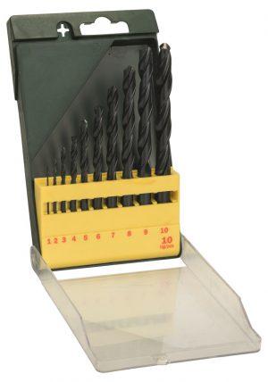 10 delige set HSS-R boren - Bosch - 8712423005952 - BOREN MP  (SET HSS-R BOREN 10-DELIG)