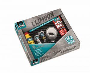 80 Jaar Onmisbaar Lijmbox - Bison - 8710439990019 -
