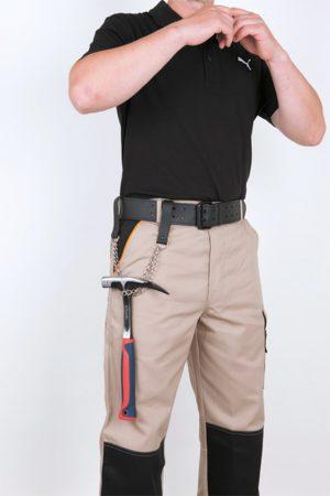 Hamerketting met leren lussen - kwb DIY - 8714253107257 - HAMMERKETTING