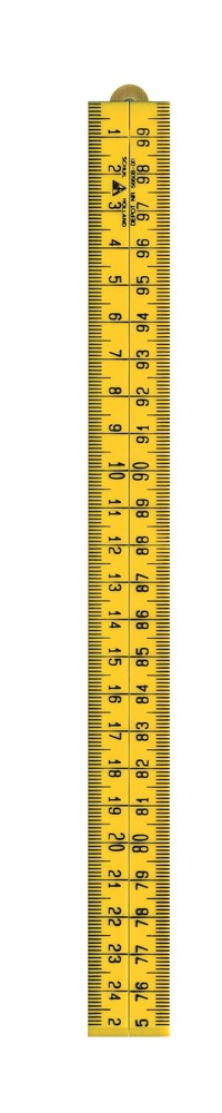 Duimstok - SCHUIL - 8715629000004 - Schuil kunststof duimstok geel 1-M
