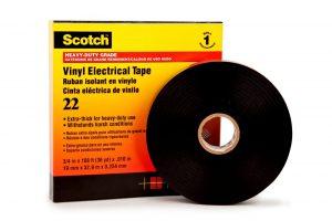 Isolatietape - 3M Scotch® - 8713258999997 - Scotch® 22 premium PVC isolatietape
