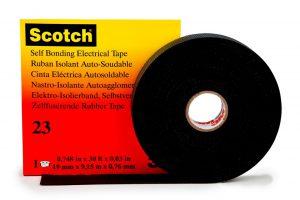 Zelffuserende Isolatietape - 3M Scotch® - 8713258999997 - Scotch® 23 zelffuserende rubber isolatietape met schutlaag