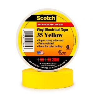PVC tape - 3M Scotch® - 8713258999997 - Scotch® 35 premium PVC isolatietape