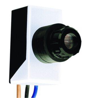 Schemerschakelaar inbouw - KLEMKO - 8716643000001 - Inbouw Schemerschakelaar 6A inclusief Transparante moer