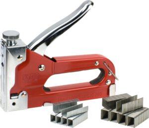 Handtacker Tack 140 met nieten in koffer - kwb DIY - 8714253107257 - TACK T140 MET NIETEN /KOFFER X